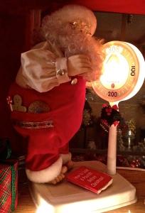 Santa on a diet