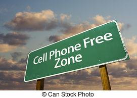 cellphone free zone